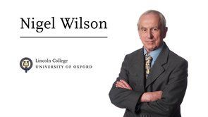 Nigel WilsonUniversity of Oxford